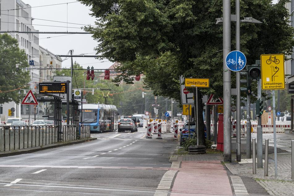 City-Routen machen dicht! Zum Schulstart droht Verkehrskollaps in Chemnitz