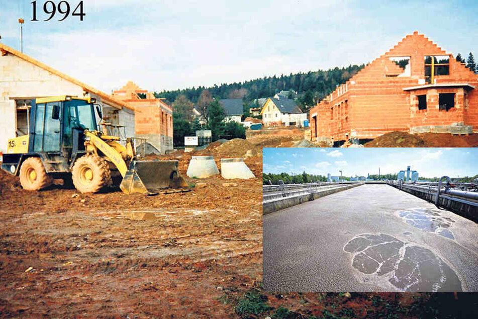 Vor 20 Jahren wurde der Grüne Winkel in Grüna erschlossen.Die Anwohner zahlten dafür. Nun gibt es Ärger mit dem ESC.