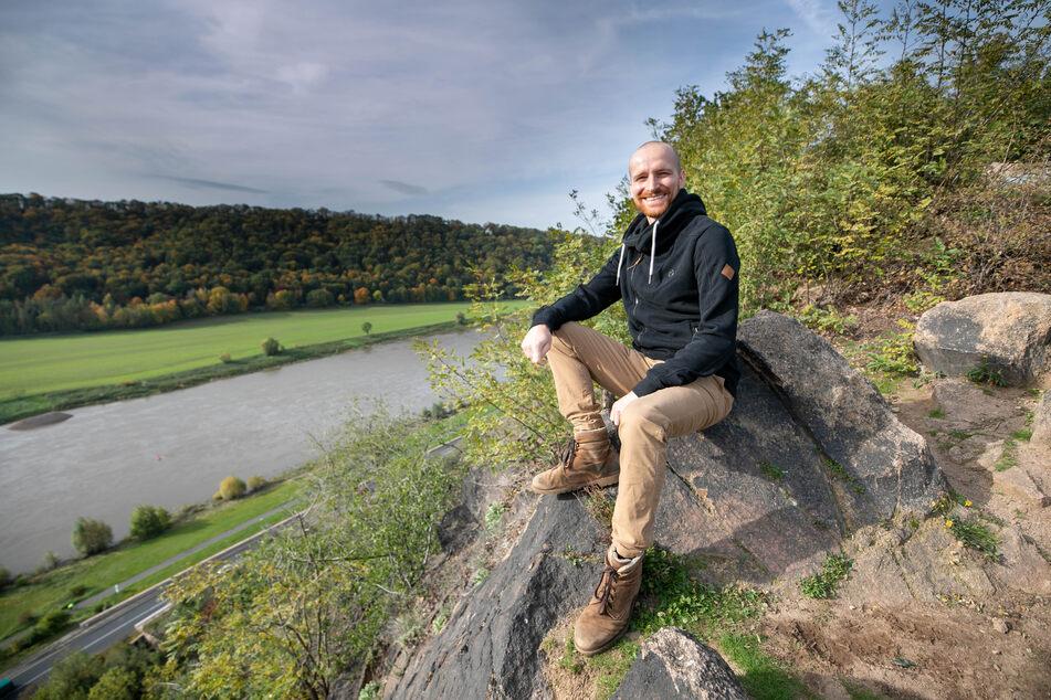 Von dieser Felsspitze aus wollte Arne Tempel vor 13 Jahren seinem Leben ein Ende setzen. Heute ist er heilfroh, dass es nicht soweit kam.