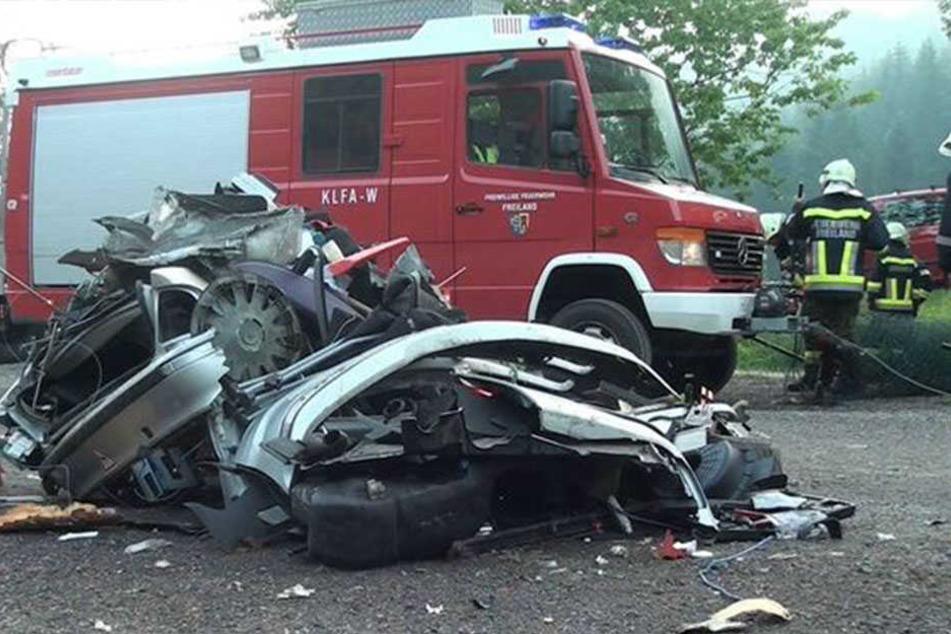 Dass er den Unfall überlebte, hat er wahrscheinlich einem Schutzengel zu verdanken.