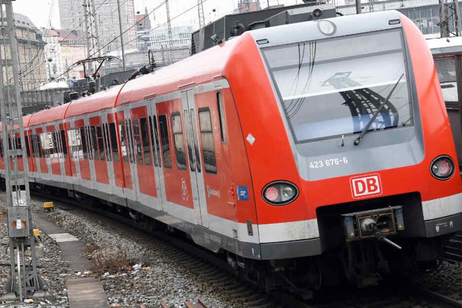 In München wurde ein 23-jähriger Mann von einer S-Bahn erfasst. (Symbolbild)