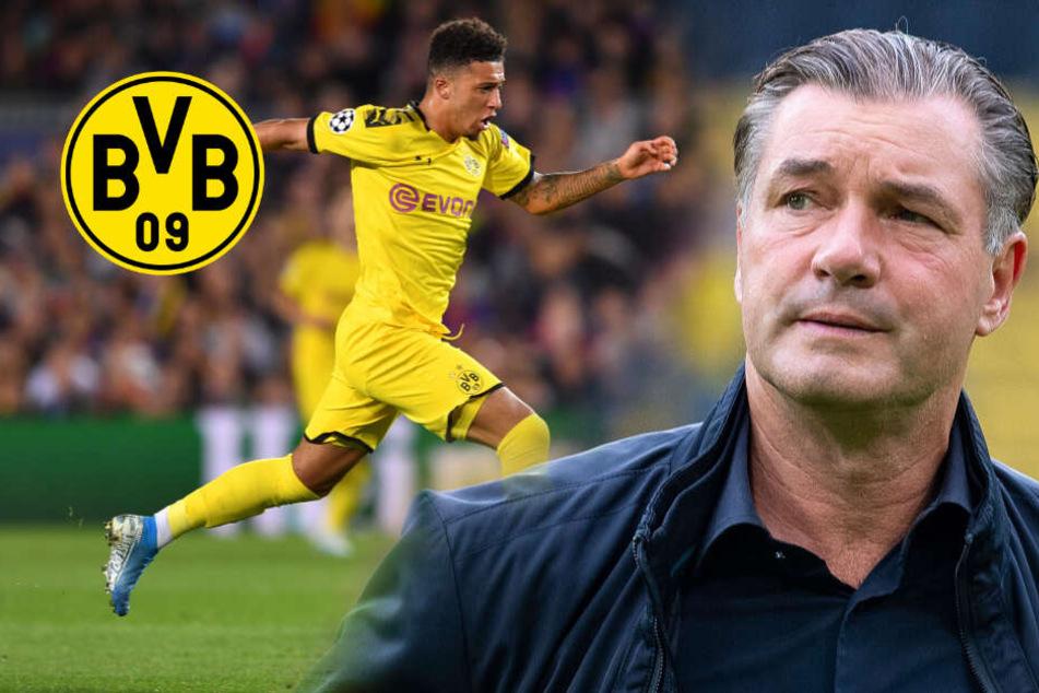 BVB: Zorc spricht Machtwort bei Sancho