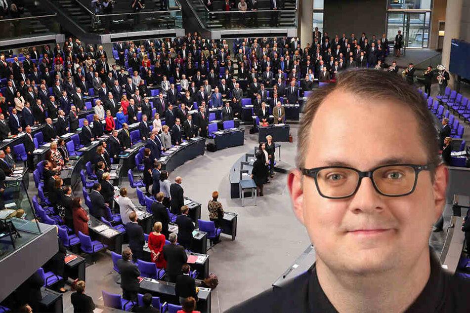 Bundestagsabgeordneter Sören Pellmann (40) fordert einige Veränderungen im Leipziger Schulsystem.
