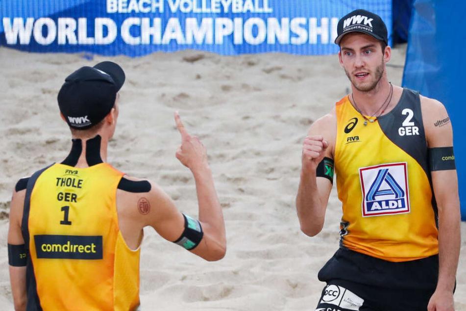 Jaaaa! Hamburger Beach-Boys stehen bei Beachvolleyball-WM im Halbfinale