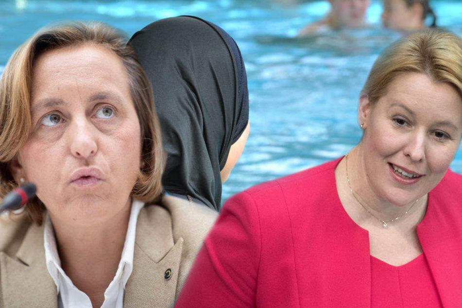 Burkini im Schwimmunterricht? AfD-Storch geht auf Giffey los
