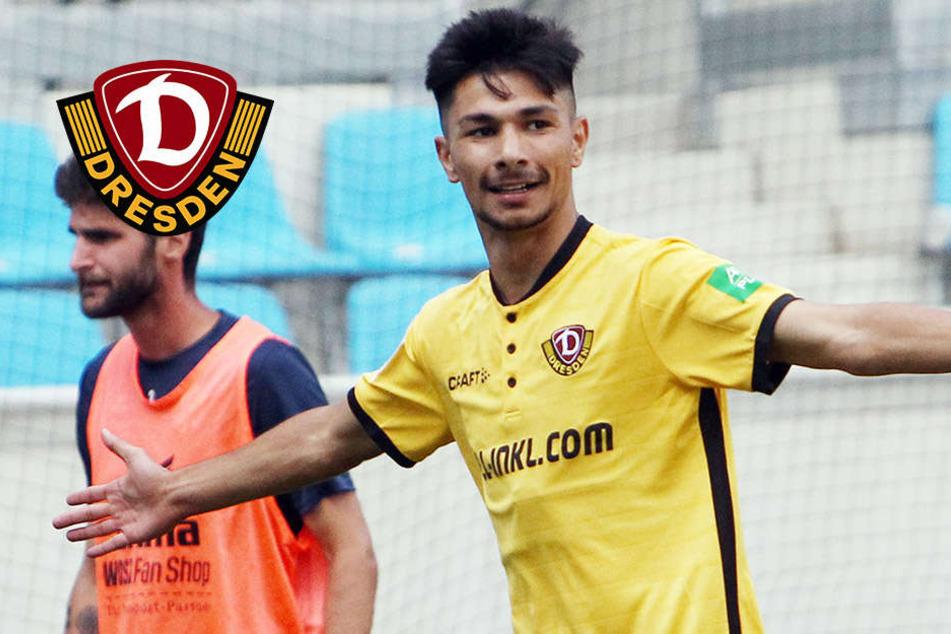 Keine Interviews: Dynamo-Talent Atilgan soll auf dem Spielfeld glänzen