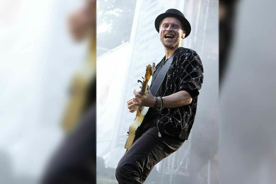 Rockt am 17. August den Theaterplatz: Musiker Johannes Oerding (37).