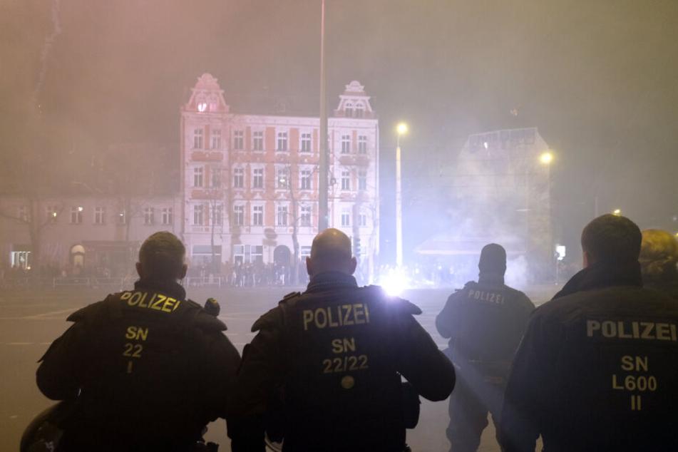 Leipzig: Silvester-Randale in Leipzig: Vier Chaoten sitzen in Haft
