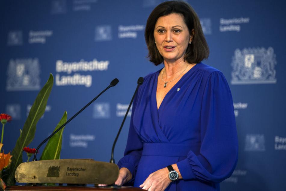 Ilse Aigner (CSU), Präsidentin des Bayerischen Landtages hat den AfD-Abgeordneten offiziell gerügt.