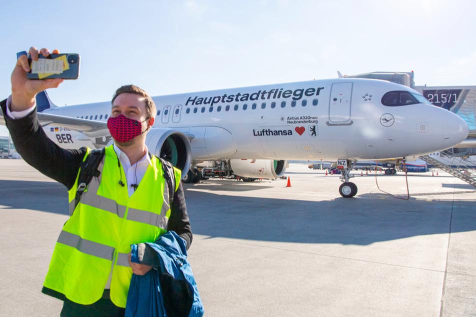 BER Eröffnung: Erster Flieger von München gestartet