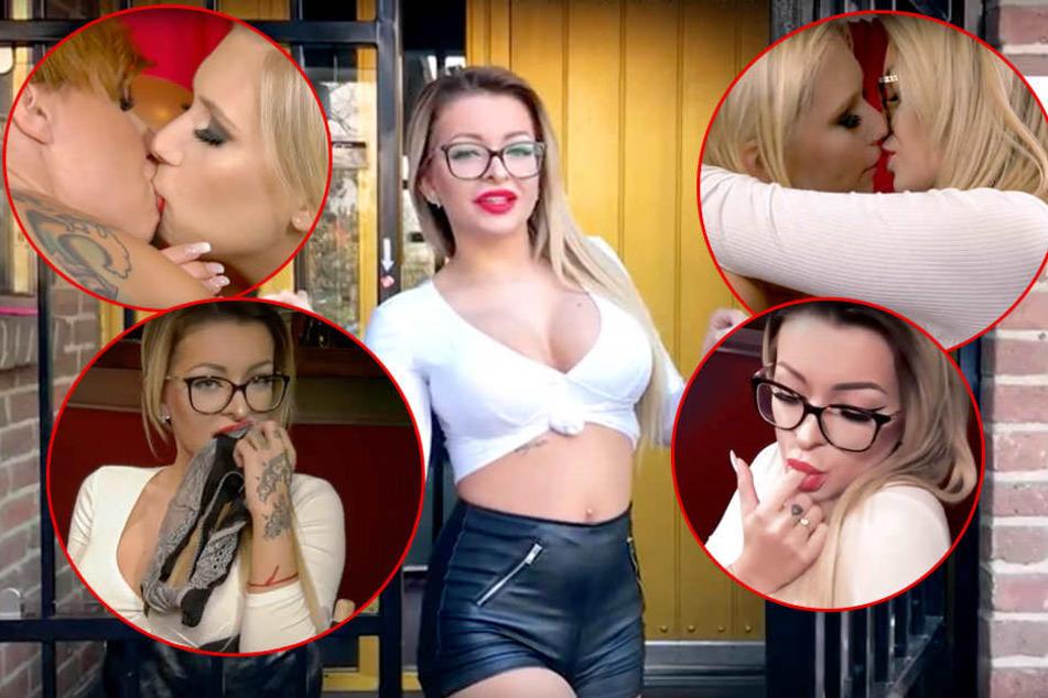 Katja Krasavice (21) präsentierte in der ersten Woche des neuen Jahres ihren ersten Sex-Streifen.