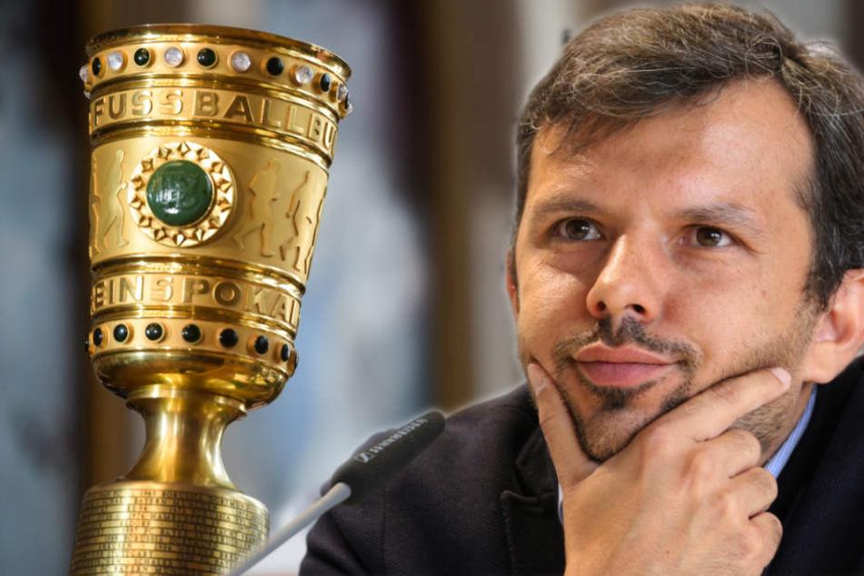 Samir Arabi (39) hofft mit dem DSC im DFB-Pokal viel Geld verdienen zu können.