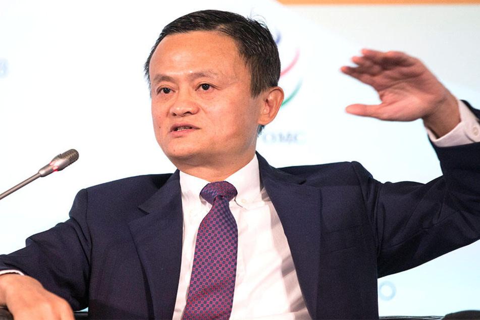 Mit seinem Spruch macht sich Jack Ma nicht nur Freunde.