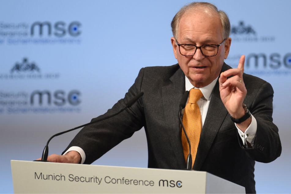 Wolfgang Ischinger ist Chef der Sicherheitskonferenz.