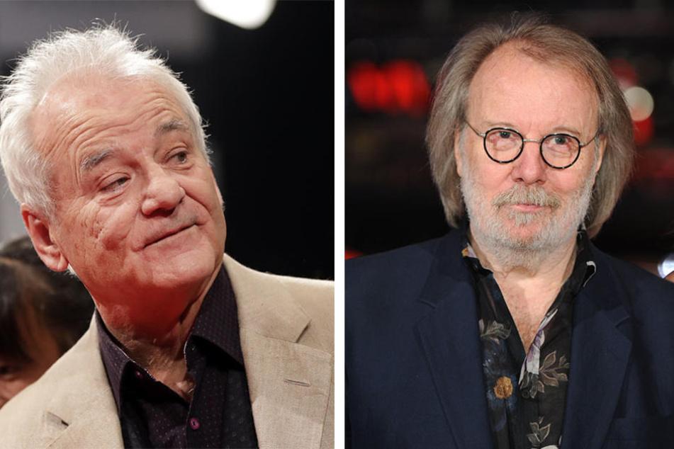 Schauspiel-Legende Bill Murray und ABBA-Star Benny Andersson waren auch vor Ort.
