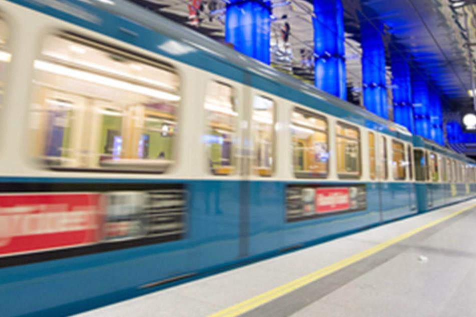 In Frankfurt starb eine Frau beim Überqueren der U-Bahn-Gleise. (Symbolbild)