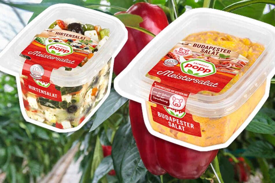 Popp Feinkost ruft bislang zehn verschiedene Salate zurück.