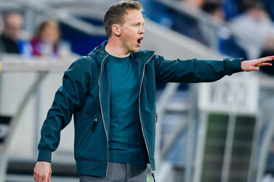 Hoffenheim-Trainer Julian Nagelsmann warnt seine Mannschaft vor der aggressiven Spielweise des FC Augsburg.