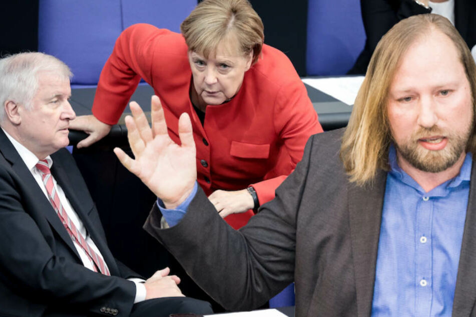 Anton Hofreiter (48, Grüne) lederte am Mittwoch im Bundestag ordentlich gegen die GroKo ab. (Bildmontage)