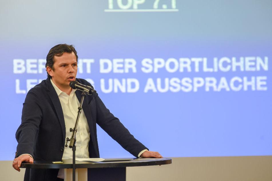 Seit Anfang September 2016 ist Samir Arabi Sportchef in Bielefeld.