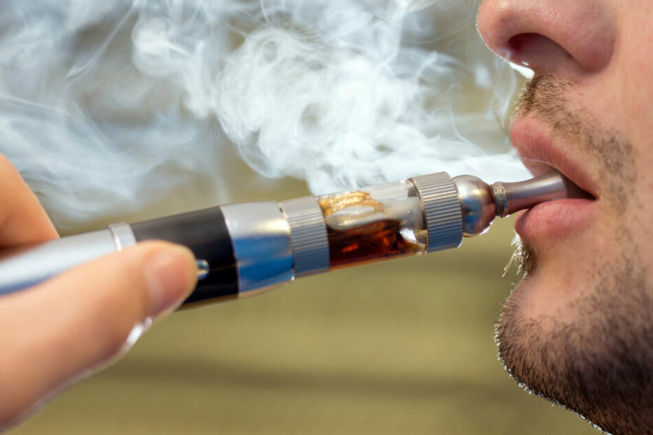 E-Zigarettem machen ebenfalls abhängig. (Symbolbild)