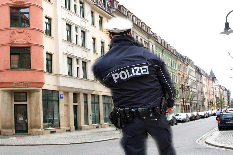 Im Dresdner Hechtviertel wurde eine Frau sexuell belästigt.