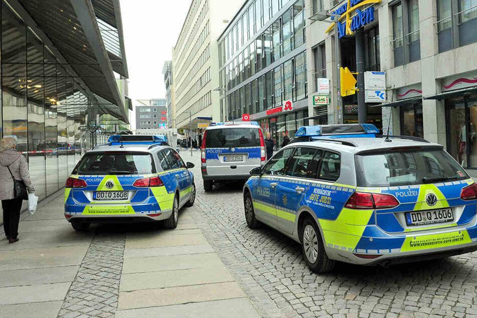 Die Auseinandersetzung eskalierte in der Straße Am Rathaus. (Archivbild)