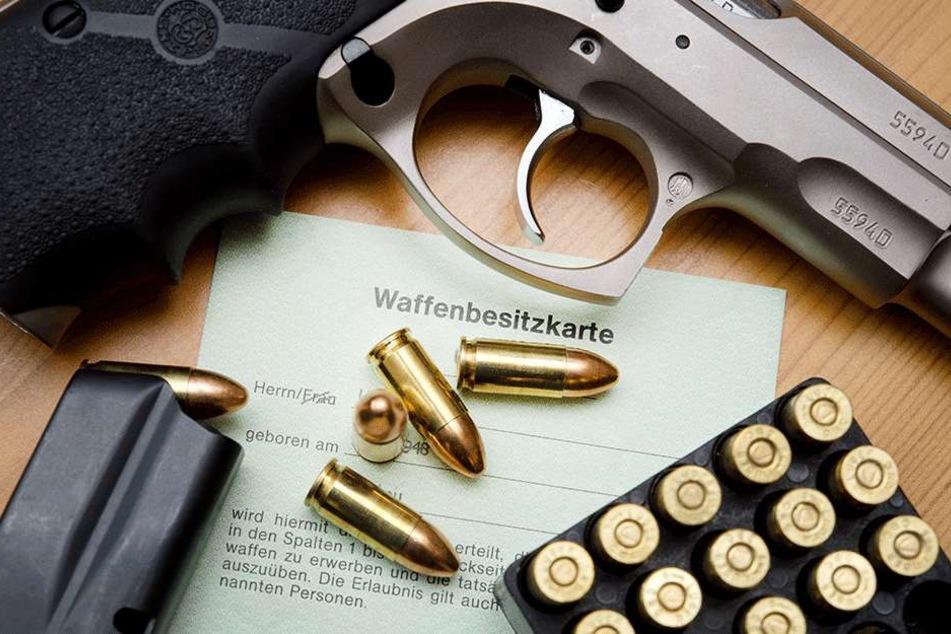 Waffendelikte in Sachsen nehmen erschreckend zu