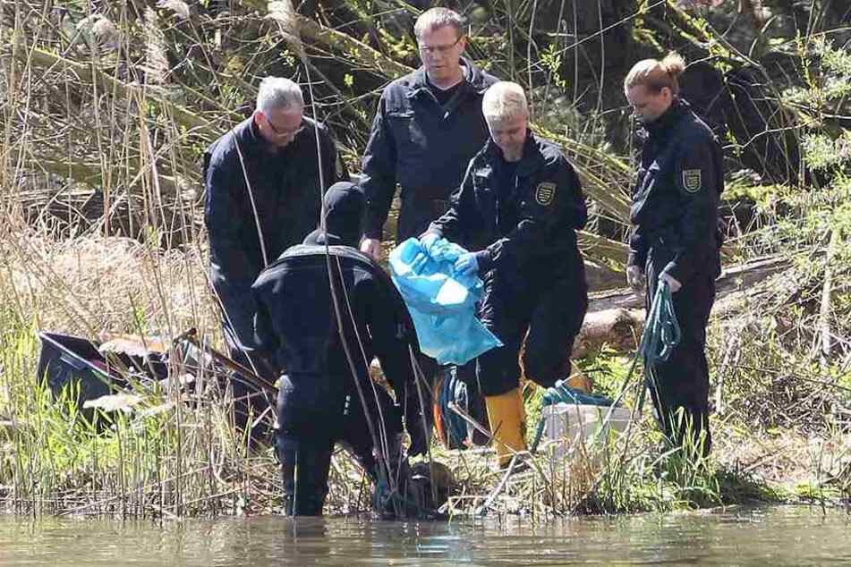 Im April 2016 zogen Polizeitaucher die zerstückelte Leiche von Maria D. aus dem Elsterbecken.