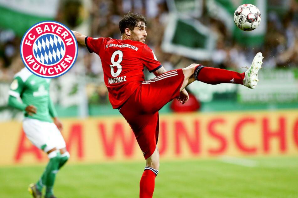 Martinez vor Bayern-Abschied: Ehrenbekundung an einen seiner Mitspieler