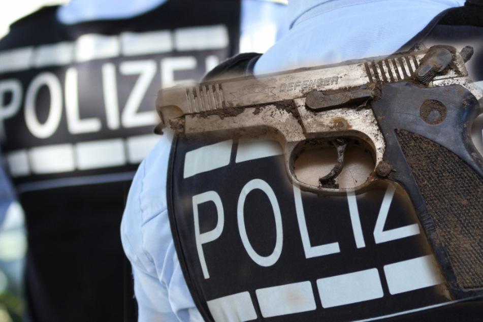 Betrunkener Mann schießt Nachbarn mit Schreckschuss-Waffe ins Gesicht
