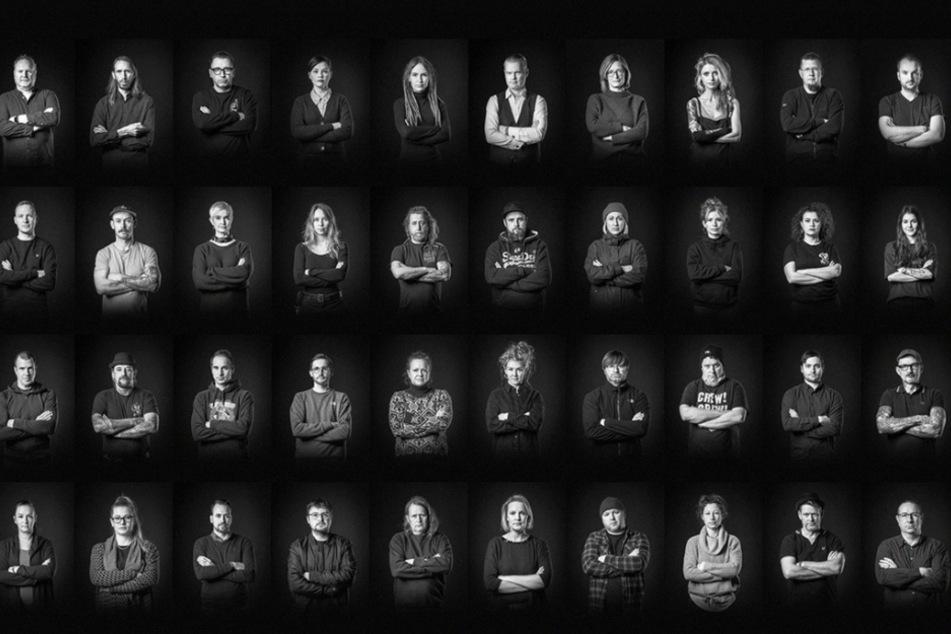 Mit einer Porträtserie machen Leipzigs Kulturschaffende aktuell unter anderem auf Facebook und Instagram auf sich und ihre Situation aufmerksam.