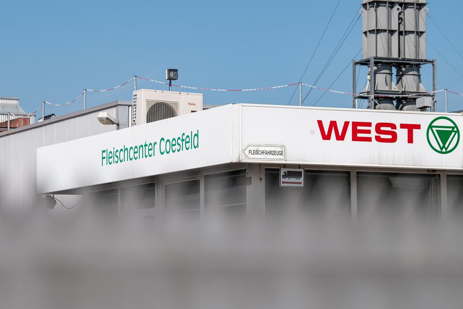 In diesem Fleischereibetrieb in Coesfeld gab es dutzende Infizierte.