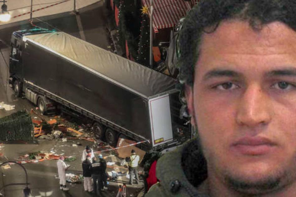 Die Fratze des Bösen: Attentäter Anis Amri.