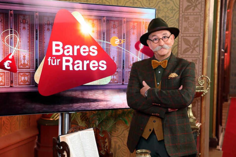 """Der Moderator von """"Bares für Rares"""" ist Horst Lichter"""