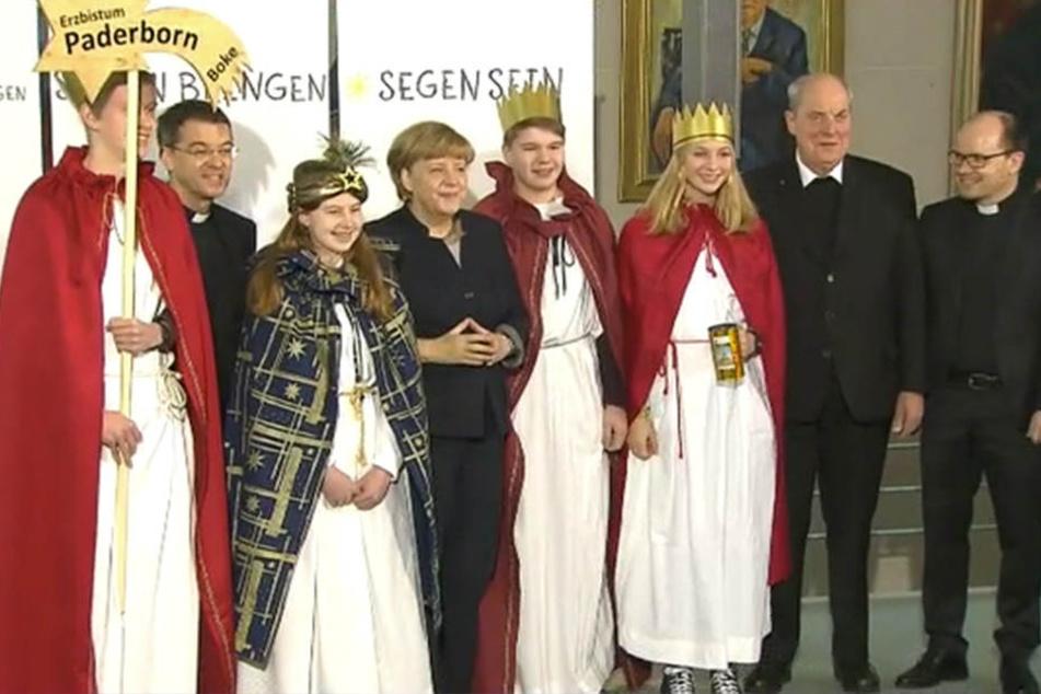Vier Messdiener der Gemeinde St. Landolinus Boke haben das Erzbistum Paderborn in Berlin vertreten.