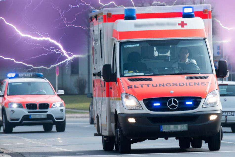 Der Schüler kam anschließend ins Krankenhaus. (Fotomontage/Symbolbild)