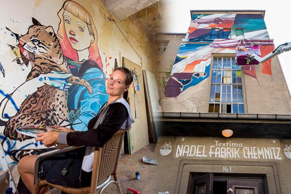 Kreative leben sich hier so richtig aus: Nadelfabrik wird zum Kunstwerk