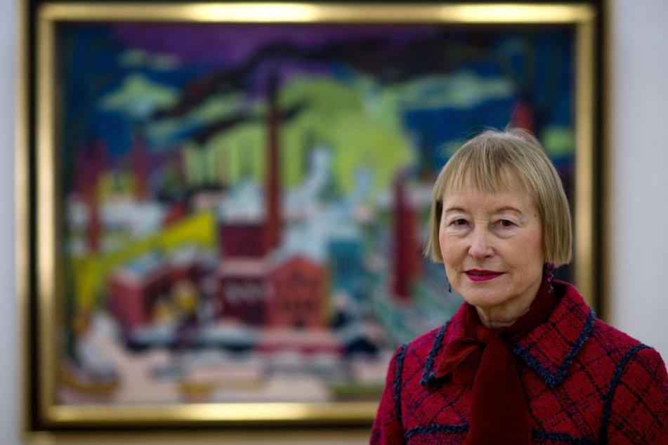 Ingrid Mössinger wird Ehrenbürgerin von Chemnitz.
