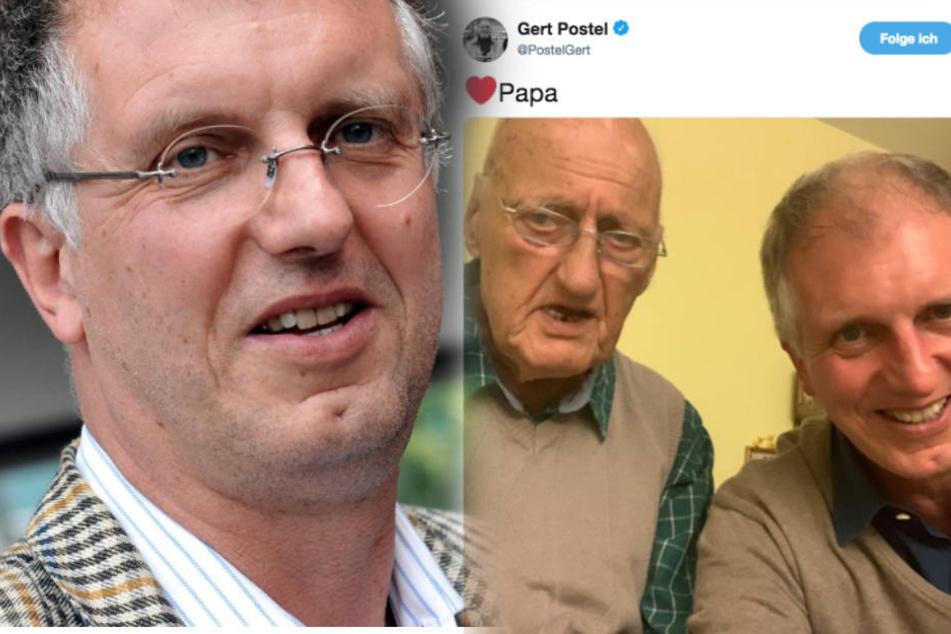 Nach 40 Jahren sieht Hochstapler Gert Postel seinen 89-jährigen Vater wieder. (Fotomontage)
