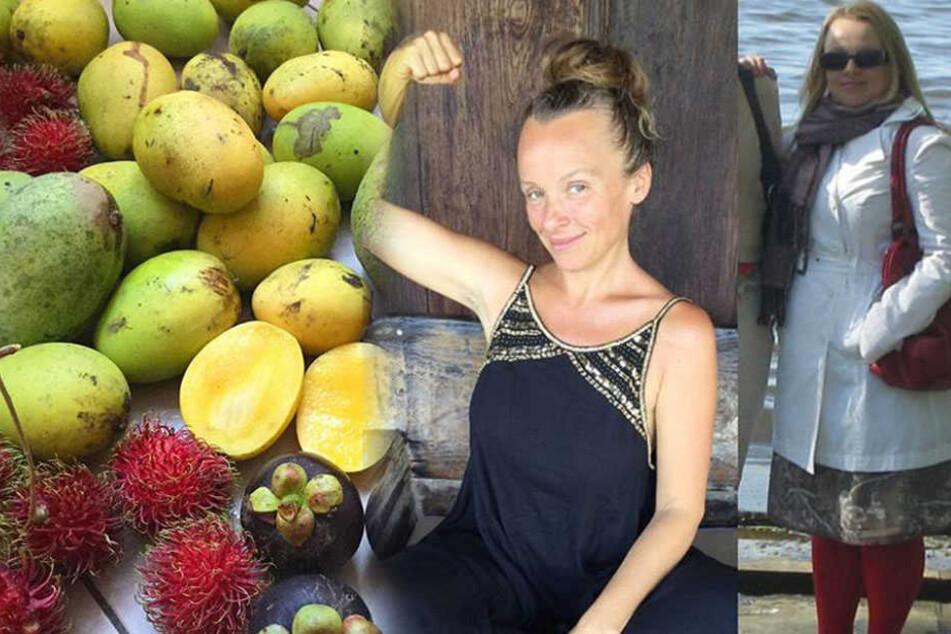 Tina Stoklosa nahm durch ihre Obst-Diät 32 Kilogramm ab.