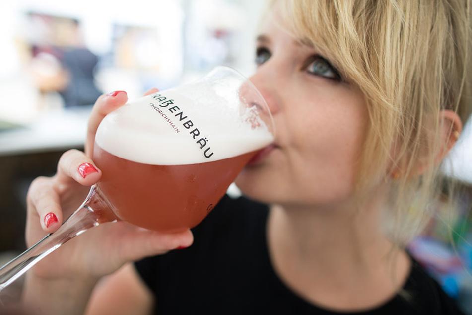 Auf dem Internationalen Berliner Bierfestival werden 800.000 Besucher erwartet.