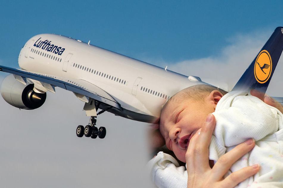 Frau bringt Baby in tausenden Metern Höhe zur Welt