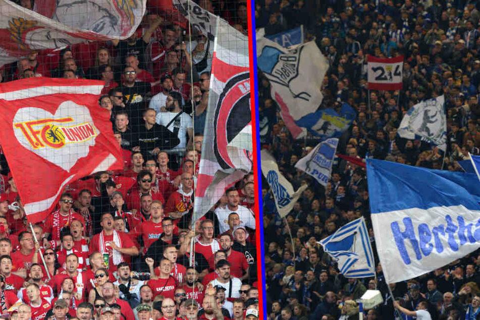 Das Berlin-Derby elektrisiert die Anhängerschaft von Union und Hertha.