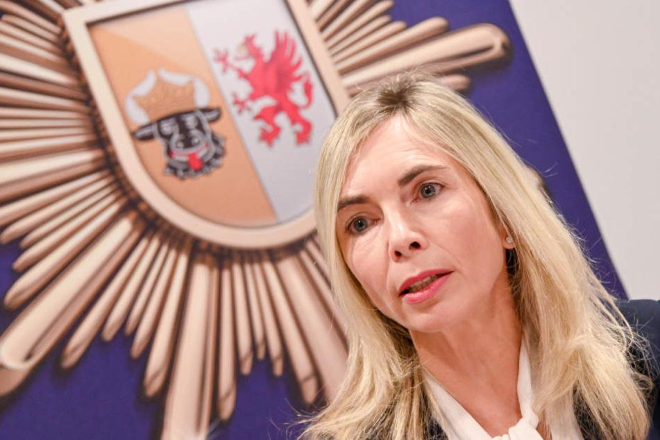 Staatsanwältin Claudia Lange informierte am Sonntag über den Fall.
