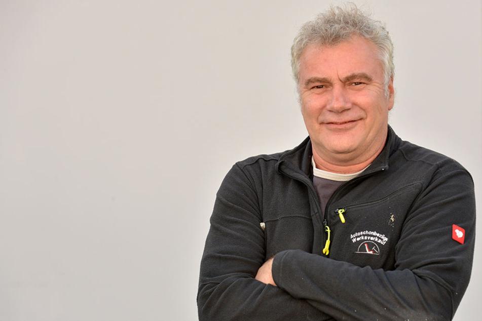 """Jens Rothmann, ebenfalls Gesellschafter von """"Rothmanns Waldhotel am Aschergraben""""."""