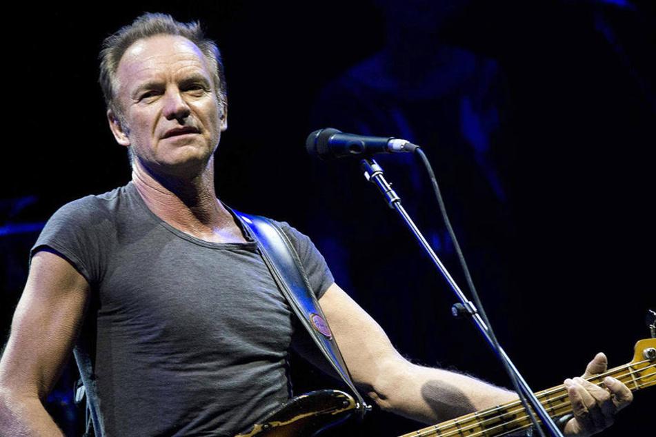 Er wird die Dresdner rocken. Superstar Sting.