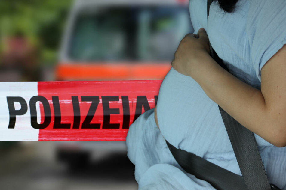 Opel und Volvo prallen frontal zusammen: Schwangere in Lebensgefahr