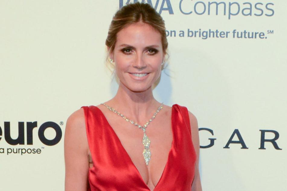 Heidi Klum verlangte ihren Models auch in der siebten Folge alles ab.