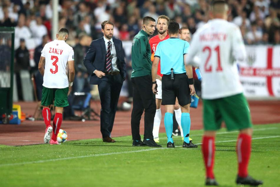Zwei Mal musste die Partie in Sofia unterbrochen werden.